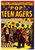 "Golden Age (1938-1955):Humor, Popular Teen-Agers #6 Davis Crippen (""D"" Copy) pedigree (Star,1951) Condition: FN+. L. B. Cole cover art. Contains negligee..."