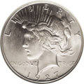 Peace Dollars: , 1927-S $1 MS65 NGC. The 1927-S is readily available in lower MintState grades. It becomes sc...