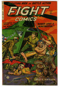 Golden Age (1938-1955):War, Fight Comics #83 Mile High pedigree (Fiction House, 1952)Condition: VF-. Maurice Whitman cover. Overstreet 2006 VF 8.0valu...