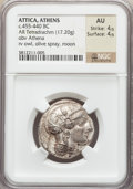 Ancients:Greek, Ancients: ATTICA. Athens. Ca. 460-440 BC. AR tetradrachm (17.20gm)....