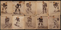 Hockey Cards:Lots, 1936 Ice Kings Hockey Collection (10). ...