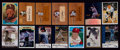Baseball Cards:Autographs, Signed 1960's - 2000's Baseball Stars and Hall of Famers Card Collection (14). ...