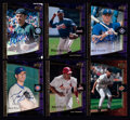 Baseball Cards:Sets, 2001 UD Ultimate Collection Complete Set (120) With All Short Prints, Three With Autographs. ...