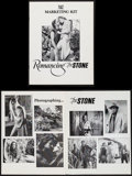 "Movie Posters:Adventure, Romancing the Stone & Others Lot (20th Century Fox, 1984).Marketing Kits (19) (Multiple Pages, 8.5"" X 11"" & 11"" X 17"")and ... (Total: 21 Items)"