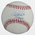 "Baseball Collectibles:Balls, Reggie Jackson ""Mr. October"" and Derek Jeter ""Mr. November"" MultiSigned Baseball...."