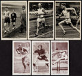 Golf Cards:General, 1938 Churchman's Kings Of Speed Complete Set (50) & 1938 Wills British Sporting Personalities Complete Set (48). ...