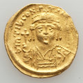 Ancients:Byzantine, Ancients: Lot of three AV solidi (AD 527-602).... (Total: 3 coins)