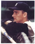 "Autographs:Photos, 1980's Roger Maris Signed Photograph. ""As a ballplayer, I would bedelighted to do it again,"" Maris once said of his glorio..."