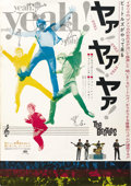 "Movie Posters:Rock and Roll, A Hard Day's Night (United Artists, 1964). Japanese B2 (20"" X 29"")...."
