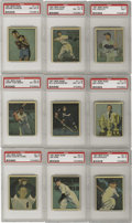 "Baseball Cards:Sets, 1951 Berk Ross Complete Set (72). Entitled ""Hit Parade of Champions,"" the 1951 Berk Ross set consists of 72 cards from all d..."