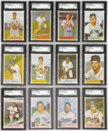 Baseball Cards:Sets, 1954 Bowman Baseball High Grade Complete Set (224). Offered is ahigh grade complete 1954 Bowman set of 224 cards. A very hi...