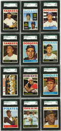 Baseball Cards:Sets, 1964 Topps Baseball Extremely High Grade Complete Set (587). Offered is an extremely high grade 1964 Topps Set. An astoundin...