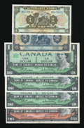 Canadian Currency: , Canada and Haiti. ... (Total: 6 notes)