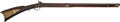 Long Guns:Muzzle loading, Full Stock Percussion .52 Caliber Rifle, Lock Marked C. BirdPhila...