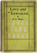 Books:Literature Pre-1900, H. G. Wells. Love and Mr. Lewisham. New York: Frederick A. Stokes, [1900]. Second American edition. ...