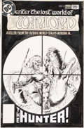 Original Comic Art:Covers, Mike Grell Warlord #13 Cover Original Art (DC, 1978)....