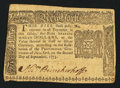 Colonial Notes:New York, New York September 2, 1775 $5 Fine-Very Fine.. ...
