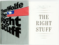 Books:Biography & Memoir, Tom Wolfe. SIGNED. The Right Stuff. New York: Farrar StrausGiroux, [1979]. First Edition, First Printing. Signed ...