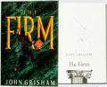 Books:Mystery & Detective Fiction, John Grisham. SIGNED. The Firm. New York: Doubleday, [1991].First Edition. Signed by the author....