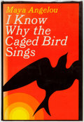 Books:Biography & Memoir, Maya Angelou. INSCRIBED. I Know Why the Caged Bird Sings.New York: Random House, [1969]. First Edition, First Print...