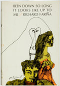 Books:Fiction, Richard Farina. Been Down So Long It Looks Like Up to Me.New York: Random House, [1966]. First Edition, First P...