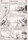 """Original Comic Art:Panel Pages, Murphy Anderson Strange Adventures #150 """"The Plant ThatHated Humans!"""" Page 5 Atomic Knights Original Art (DC, 196..."""