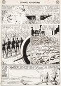 """Original Comic Art:Panel Pages, Murphy Anderson Strange Adventures #150 """"The Plant ThatHated Humans!"""" Page 15 Atomic Knights Original Art (DC, 19..."""