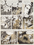 "Original Comic Art:Panel Pages, Wally Wood Witzend #1 ""Animan"" Page 6 Original Art (WallaceWood, 1966)...."