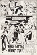 """Original Comic Art:Complete Story, Don Heck The Witching Hour #17 Complete 9 Page Story """"This Little Witch Went To College"""" Original Art (DC, 1971).... (Total: 9 Original Art)"""