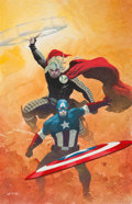 Original Comic Art:Covers, Esad Ribic Avengers V5#1 Alternate Cover Painting Original Art (Marvel, 2013)....