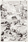 "Original Comic Art:Panel Pages, Frank Thorne and Joe Kubert Tomahawk #124 ""The Valley of NoReturn"" Page 4 Original Art (DC, 1969)...."
