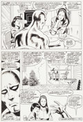 Original Comic Art:Panel Pages, John Buscema and Jack Abel Marvel Fanfare #51 Silver SurferStory Page 29 Original Art (Marvel, 1990)....
