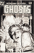 Original Comic Art:Covers, Luis Dominguez Ghosts #79 Cover Original Art (DC, 1979)....