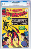 Silver Age (1956-1969):Superhero, The Amazing Spider-Man #12 (Marvel, 1964) CGC NM- 9.2 Off-white towhite pages....