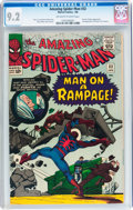 Silver Age (1956-1969):Superhero, The Amazing Spider-Man #32 (Marvel, 1966) CGC NM- 9.2 Off-white to white pages....