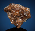 "Minerals:Small Cabinet, GROSSULAR var. HESSONITE. Jeffrey Mine (""Johns-Manville Mine""), Asbestos, Les Sources RCM, Estrie, Québec, Canada. ..."
