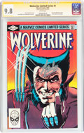 Modern Age (1980-Present):Superhero, Wolverine Limited Series #1 Signature Series (Marvel, 1982) CGCNM/MT 9.8 White pages....
