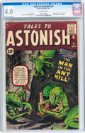 Silver Age (1956-1969):Superhero, Tales to Astonish #27 (Marvel, 1962) CGC VG 4.0 Off-white pages....