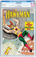Silver Age (1956-1969):Superhero, Hawkman #4 (DC, 1964) CGC NM 9.4 Off-white to white pages....