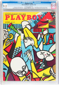Magazines:Vintage, Playboy #10 (HMH Publishing, 1954) CGC NM- 9.2 Off-white to white pages....