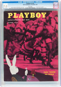 Magazines:Vintage, Playboy #12 (HMH Publishing, 1954) CGC VF- 7.5 White pages....