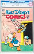 Golden Age (1938-1955):Cartoon Character, Walt Disney's Comics and Stories #102 File Copy (Dell, 1949) CGCNM+ 9.6 Off-white pages....