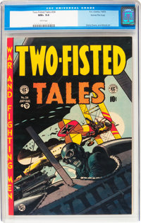 Two-Fisted Tales #34 Gaines File pedigree 8/11 (EC, 1953) CGC NM+ 9.6 White pages