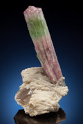 Minerals:Cabinet Specimens, TOURMALINE & QUARTZ. Paprok, Kamdesh District, NuristanProvince, Afghanistan. . ...