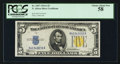 Small Size:World War II Emergency Notes, Fr. 2307 $5 1934A North Africa Silver Certificate. PCGS Choice About New 58.. ...