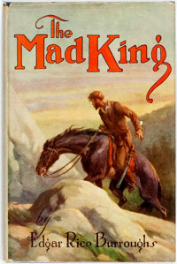 Edgar Rice Burroughs. The Mad King. Chicago: A. C. McClurg, 1926. First edition, sec