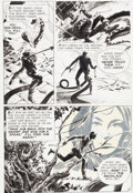 "Original Comic Art:Panel Pages, Al Williamson House of Mystery #185 ""The Beautiful Beast""Page 10 Original Art (DC, 1970)...."