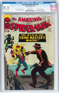 Silver Age (1956-1969):Superhero, The Amazing Spider-Man #26 (Marvel, 1965) CGC NM- 9.2 White pages....