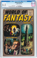 Golden Age (1938-1955):Science Fiction, World of Fantasy #1 (Atlas, 1956) CGC FN+ 6.5 Off-white to whitepages....