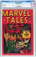 Golden Age (1938-1955):Horror, Marvel Tales #94 (Atlas, 1949) CGC VG 4.0 Off-white pages....